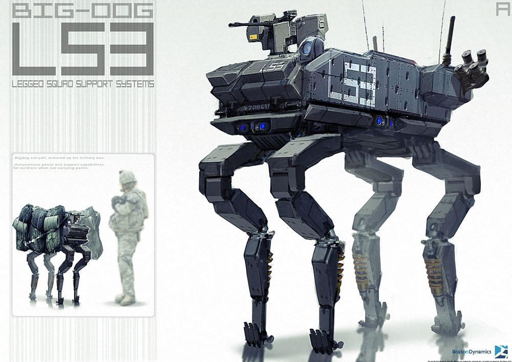 military robots big dog